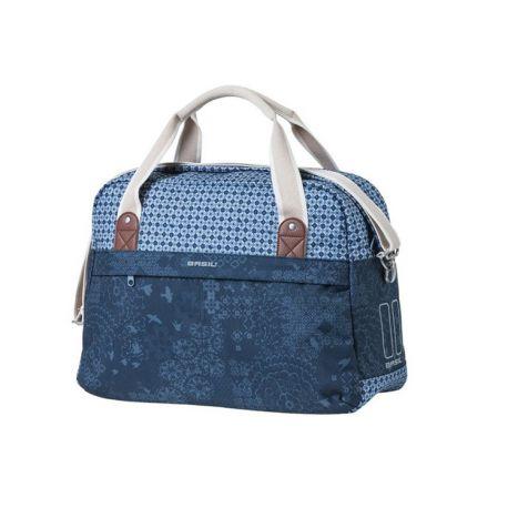 Fietstas Basil Indigo Blue 18l Carry all bag